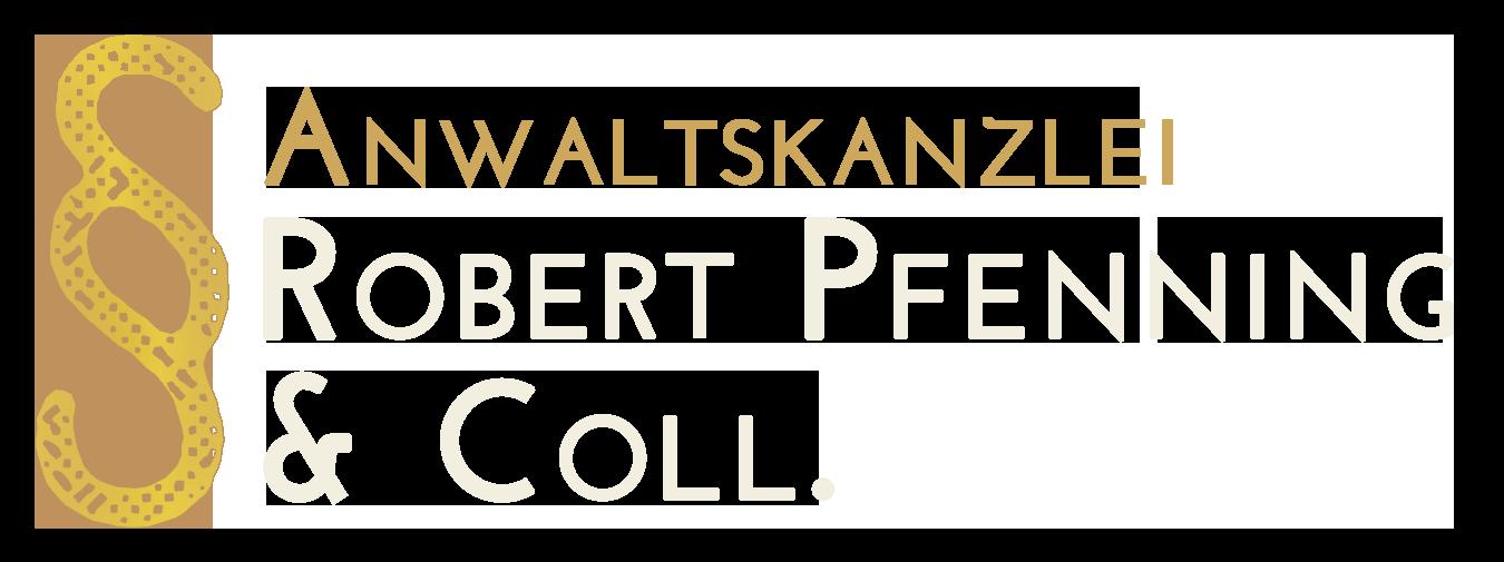 Rechtsanwalt Robert Pfenning